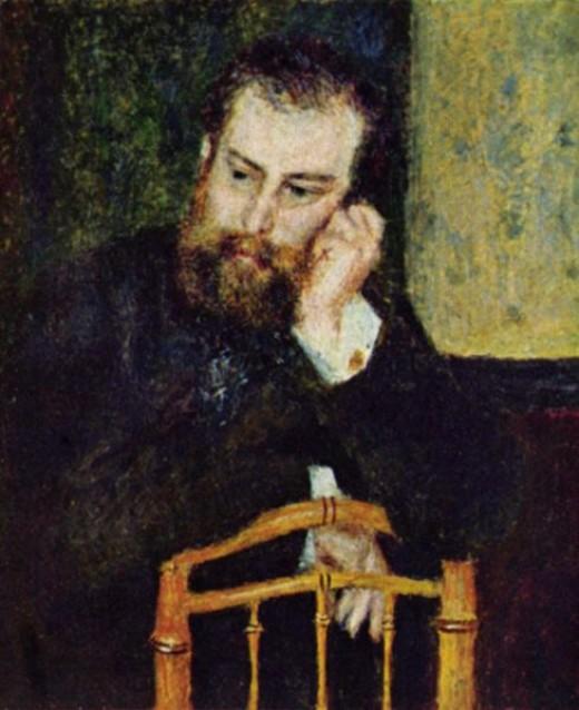 Sisley by Renoir