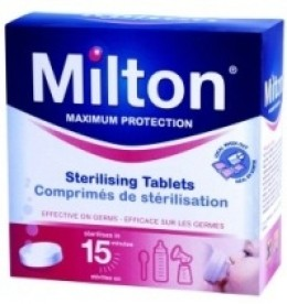 Milton anti-bacterial tablets