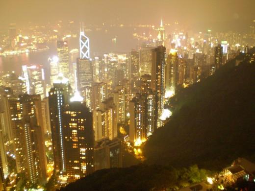 "Hong Kong from ""The Peak"""