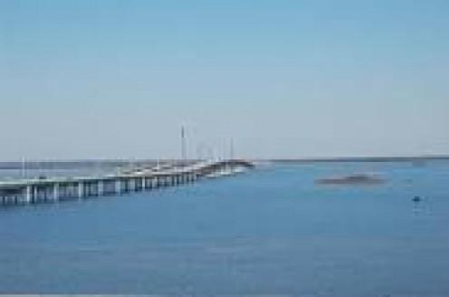 Escambia Bay Bridge to Pensacola Flordia