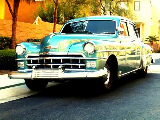"""Havana Reprise"" by Dietmar Scherf. (Parking Lot Series)"