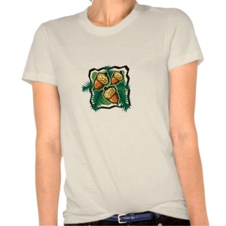 Acorns and Evergreens Organic T-shirt