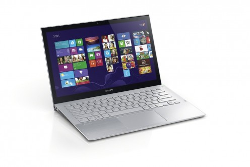 Sony VAIO Pro 13-Inch Touchscreen Ultrabook, Windows 8, Carbon Silver