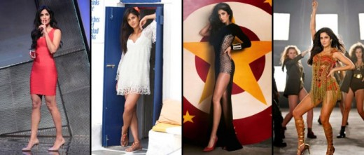 The gorgeous actress Katrina Kaif lets her toned pins take center stage and bringing out her striking figure really well! Biscoot decodes some stylish short hot moments of this Bang Bang actress!