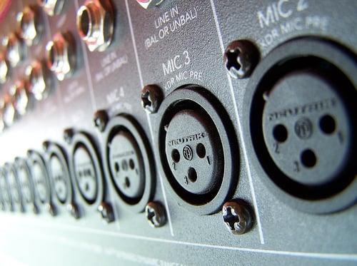 XLR input by Flattop431