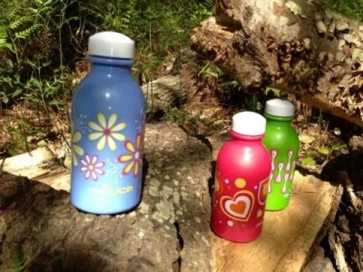 Plastic water bottles for kids