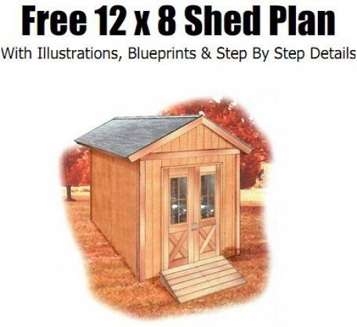 Free plans for 8x10 shed weigh