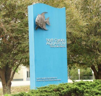 Outer Banks Aquarium in Manteo, NC on Roanoke Island