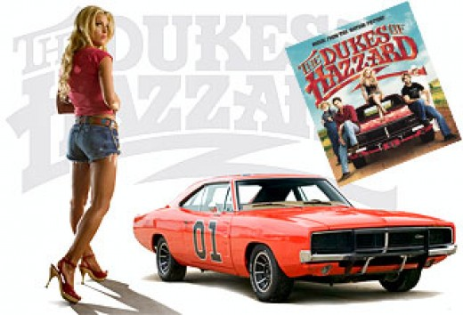 The car in the Dukes of Hazard is a 1969 Dodge Charger.