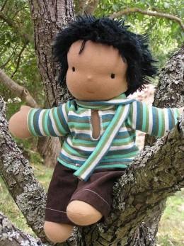 A Rag Doll for a Little Boy