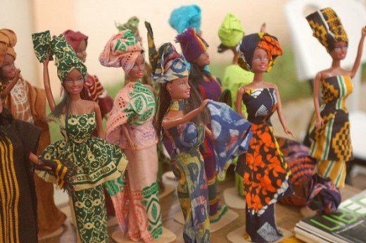 Fashion Dolls from Maker Faire Africa