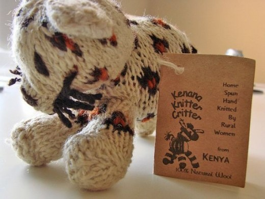 Kenana Knitter Critter Fair Trade Toy