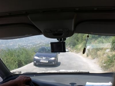 Road to The Monastery of Ostrog