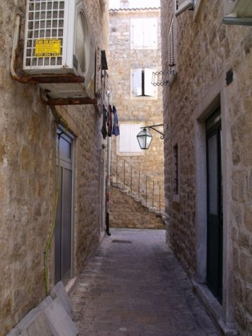 Street of Budva