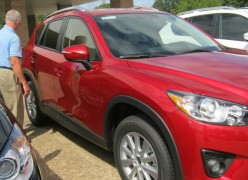 We're considering a 2015 Mazda CX-5. Anyone have a review or recommendation to help us decide?