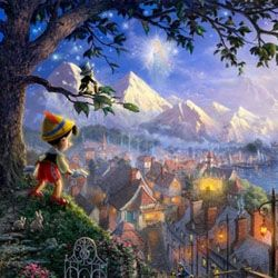Pinocchio Wishes Upon a Star