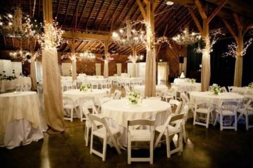 Rustic Wedding Reception / Country Wedding Reception