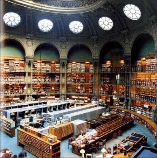 Bibliotheque Nationale de France, Paris, France