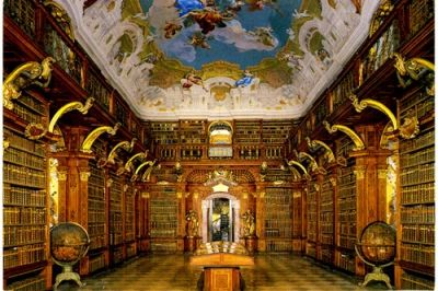 Melk Monastery Library, Melk, Austria
