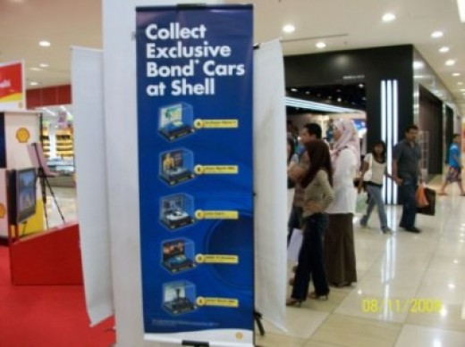 Banner Showing Types Of Limited 007 Cars