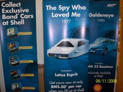 More Banners Of The 007 Limited Cars