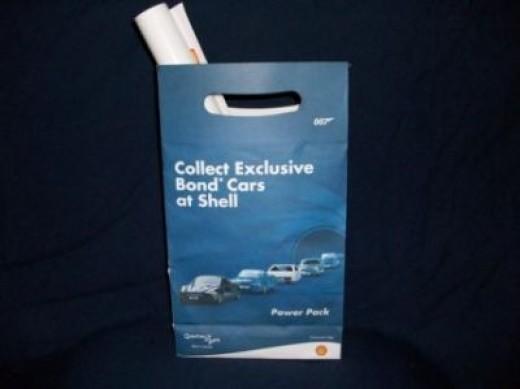 A Bag Of James Bond Souvenirs