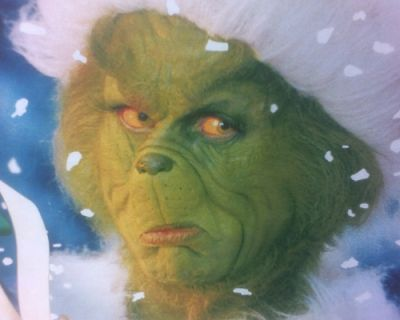 Quomodo Invidiousulus nomine Grinchus natalem Christi Abrogaverit (How The Grinch Stole Christmas) - Image Courtesy of Kevin@fli