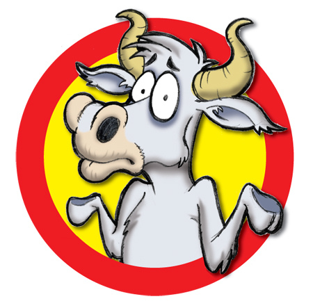PITHY PONDERING: If a cow laughed, would milk come out its nose?