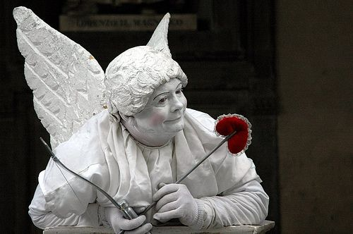 Frankly, I've always wanted to play Cupid.