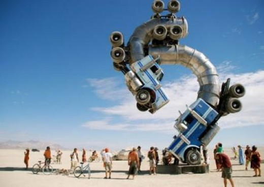 WELCOME TO THE WONKY WORLD OF WELDING (Seen only at the Burning Man Festival)