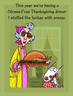 Take it from Maxine - Thanksgiving & Christmas are for the birds!