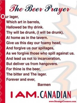 BLESS THIS BIT O' BARLEY...AND BLESS THE BOYS WHO MAKE IT!
