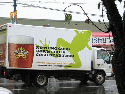 I'll have a grenouille in my grog thanks! (Image Credit: J J Justinsen@flickr.com)