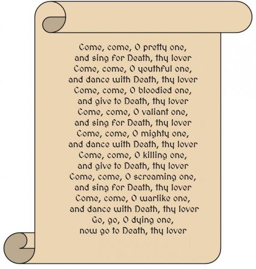 An Old Banshee Poem