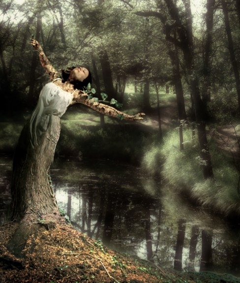 Dryad art by ~megadeathvortex on DeviantArt