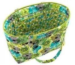 large vera bradley beach bag