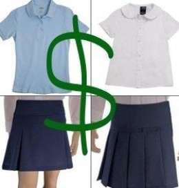 There are pros and cons of school uniforms, but as a parent, there are always costs associated with back to school clothes shopping. You can mitigate the extra expense of uniforms with these tips. Buying Used School Uniforms. Explore purchasing used uniforms before you shop for new ones.