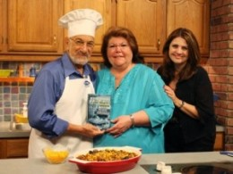 Ghost Whisperer cook book auther with Mr. Food