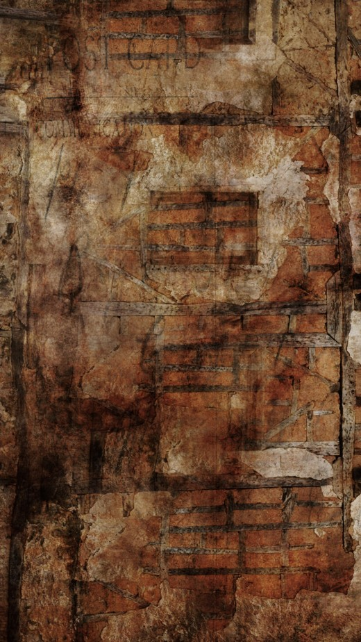 Grunge Brick Wallpaper