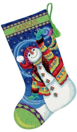 Needlepoint Christmas Stocking Kits: Everything You Need in One Package!