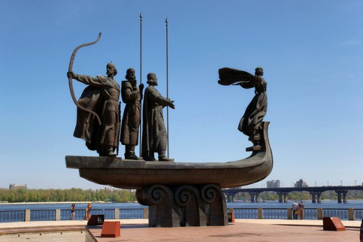 The city of Kiev was conquered by Vikings in the mid-9th century, and became the capital of the Kievan Rus.