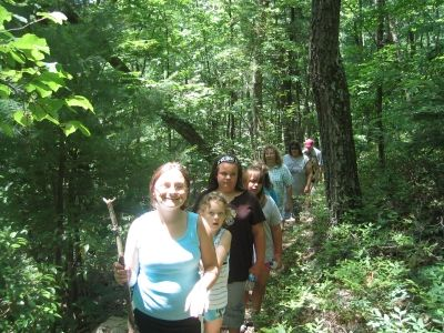 Take your girl scout troop on a hike!