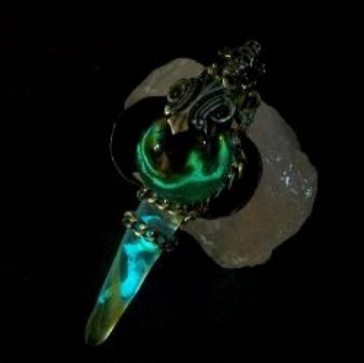 Glowing Demon Sword Design
