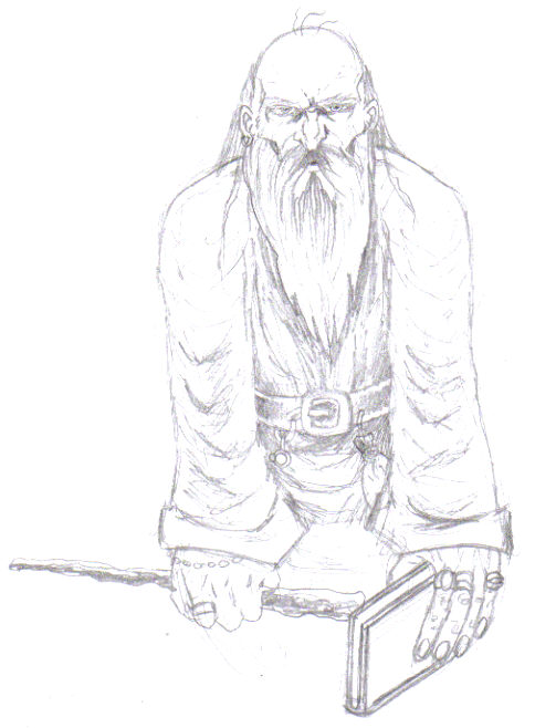 A quick wizard drawing.