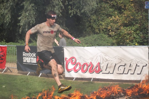 In Spartan Race Action- The Inov8 Mudclaw 300 Running Shoe