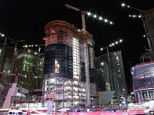 CityCenter Las Vegas nearing completion in December 2008