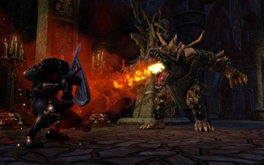 the elder scrolls online Combat System