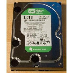 A 1 TB Internal Hard Drive for a PC.