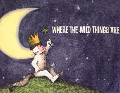 Where The Wild Things Are Poster of Book