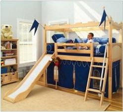 Bunk Beds With Slides for Cool Kids